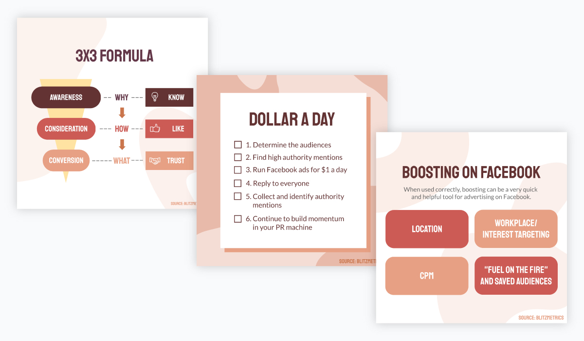blog graphics templates - match your graphics to each other