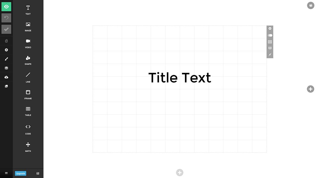best presentation software - slides editor