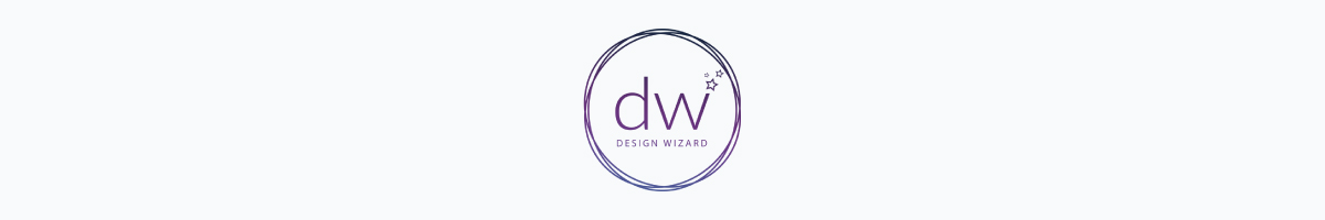 Design Wizard logo against a light background