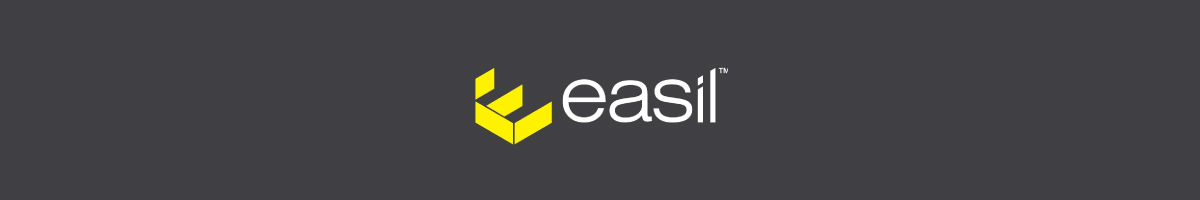 Easil logo against a dark background