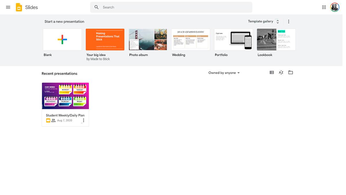 best presentation software - google slides
