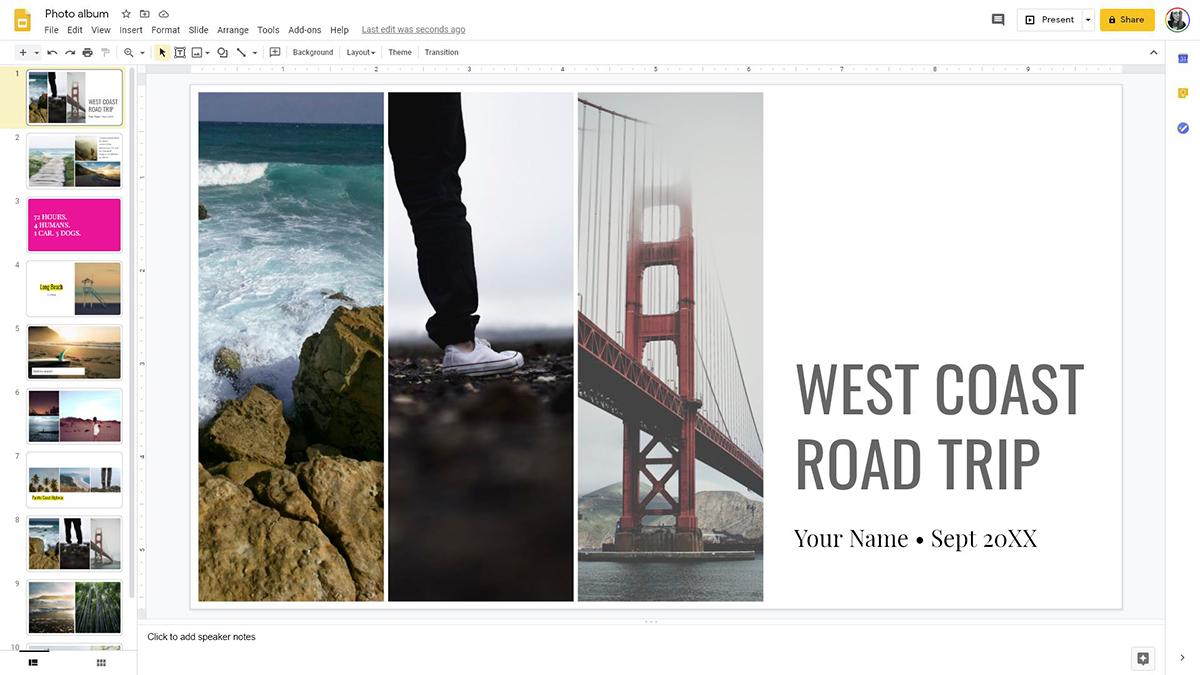 best presentation software - google slides editor