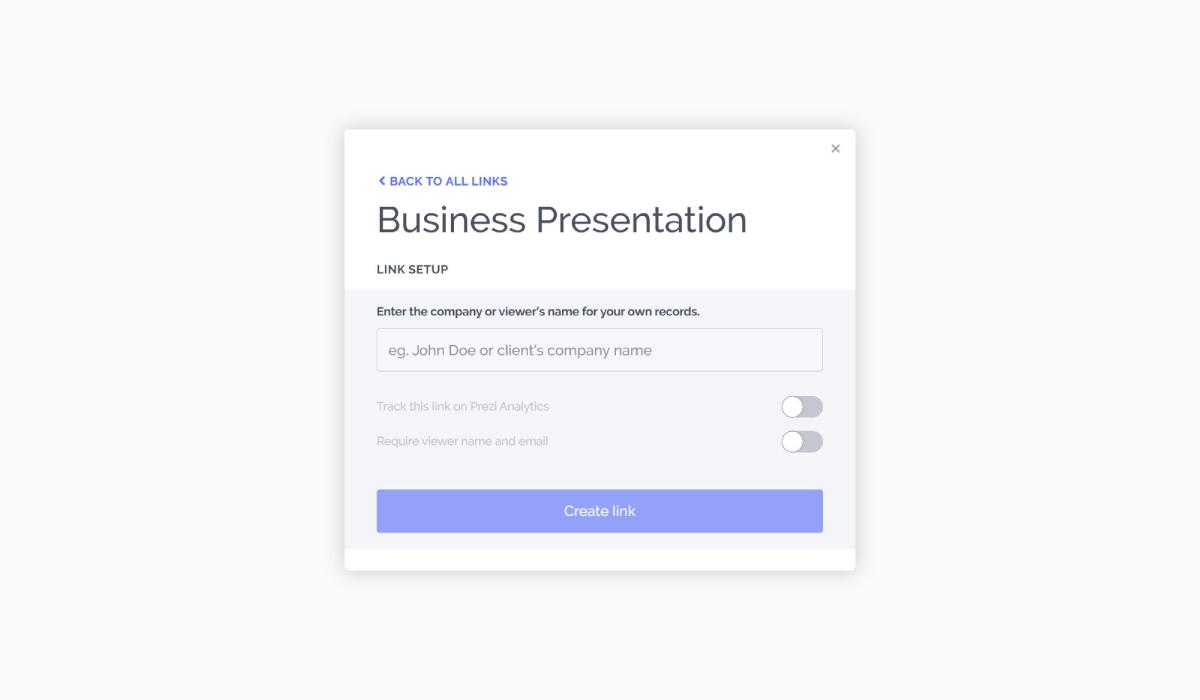 best presentation software - prezi sharing