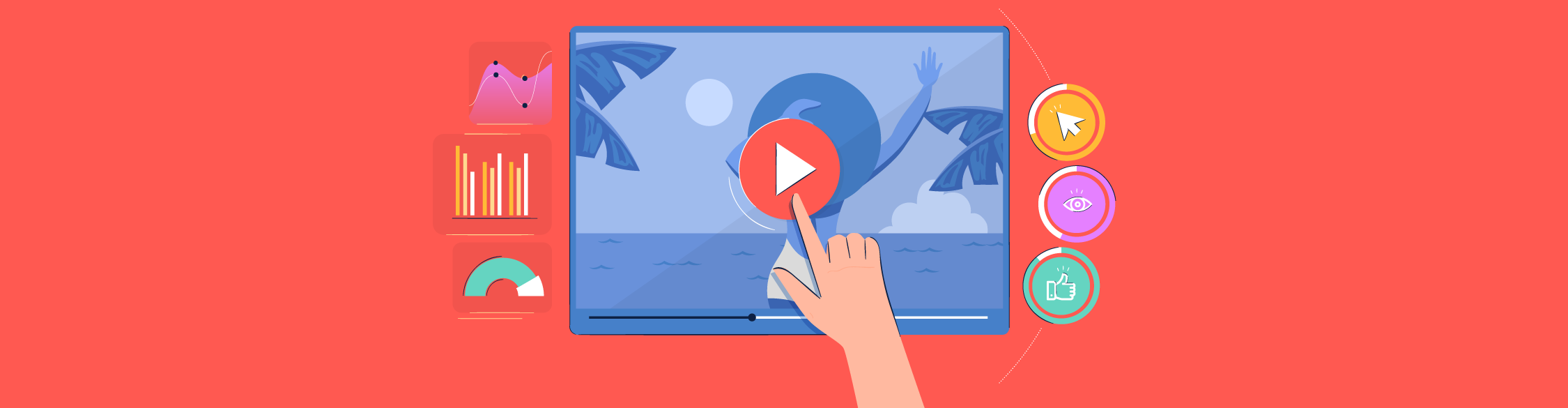 video marketing statistics - header