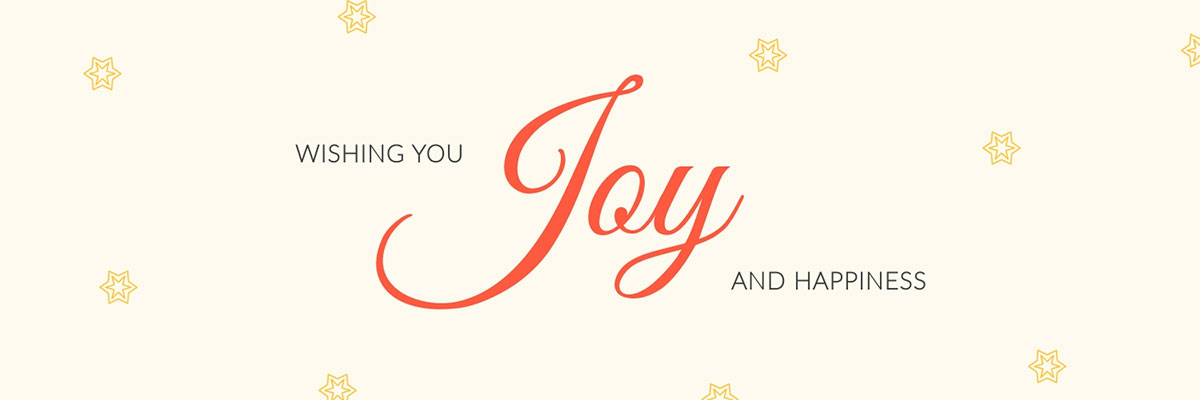 A Christmas-themed Twitter header template available in Visme.