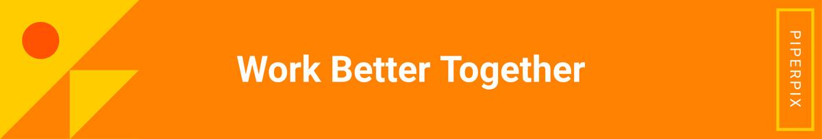 Orange LinkedIn banner template available in Visme.