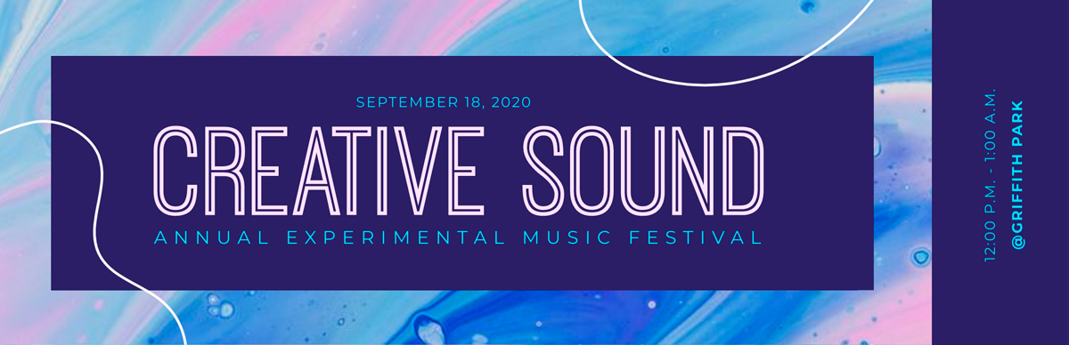 A music festival ticket template available in Visme.