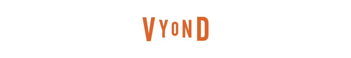 The Vyond logo.