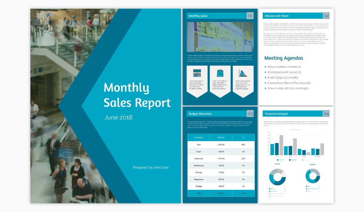 15 Business Report Templates for Professional Reports (15)