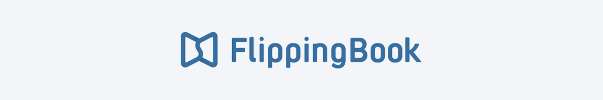 The FlippingBook logo.