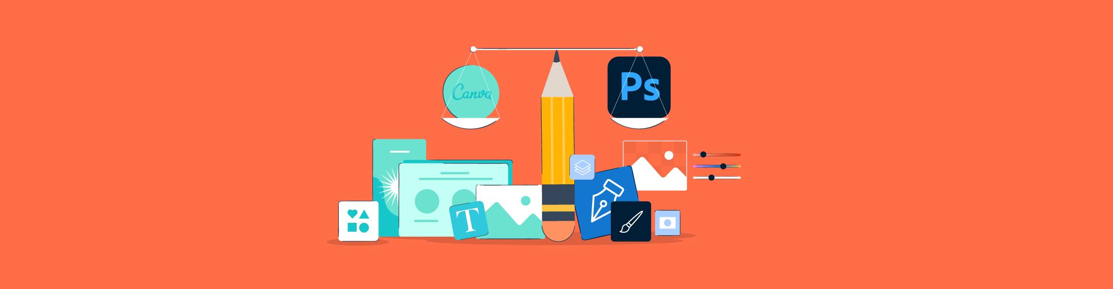 Canva vs Photoshop: Best Design Tool for Non-Designers (2021)