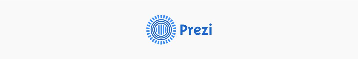 The Prezi logo.