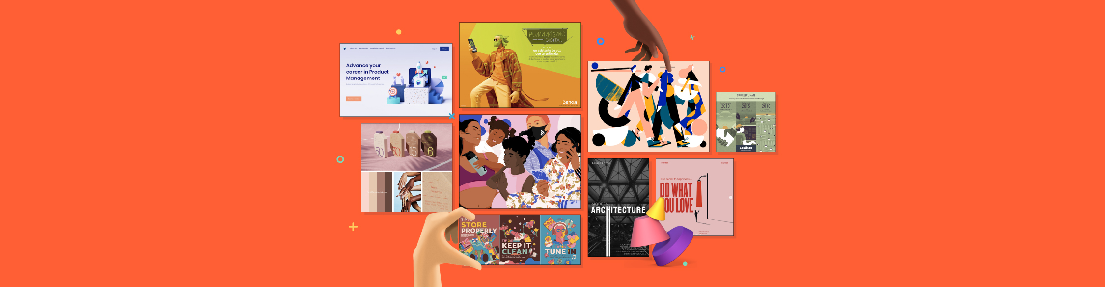15 Inspiring Graphic Design Trends for 2021
