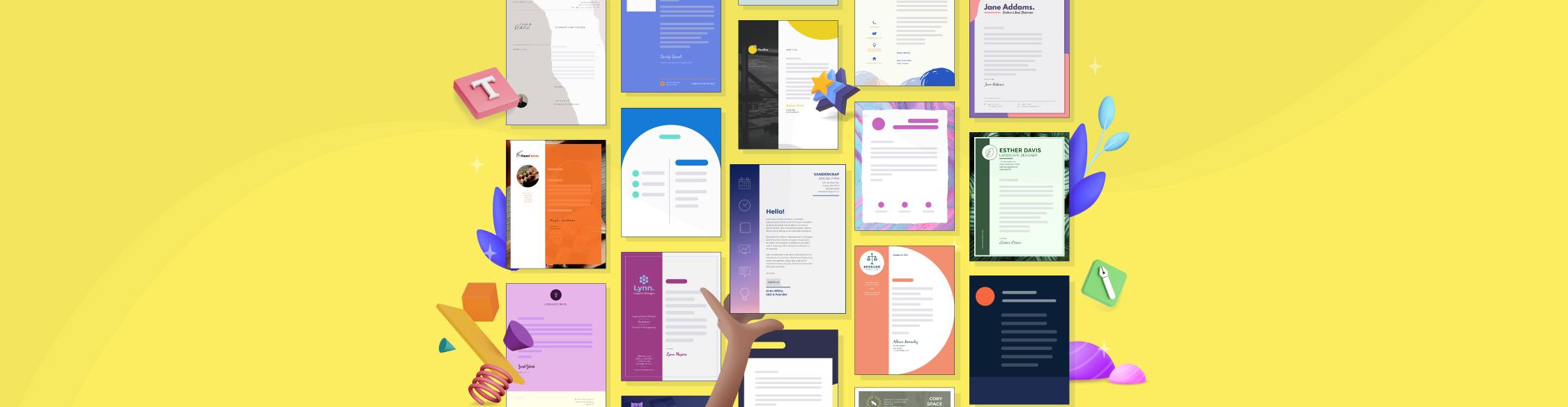 35 Business Letterhead Templates for Your Next Letter