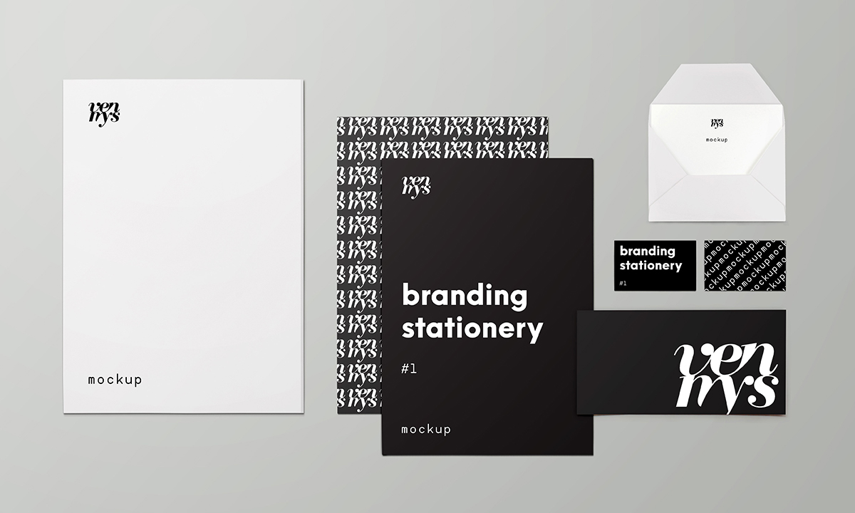 An example of a branding mockup.