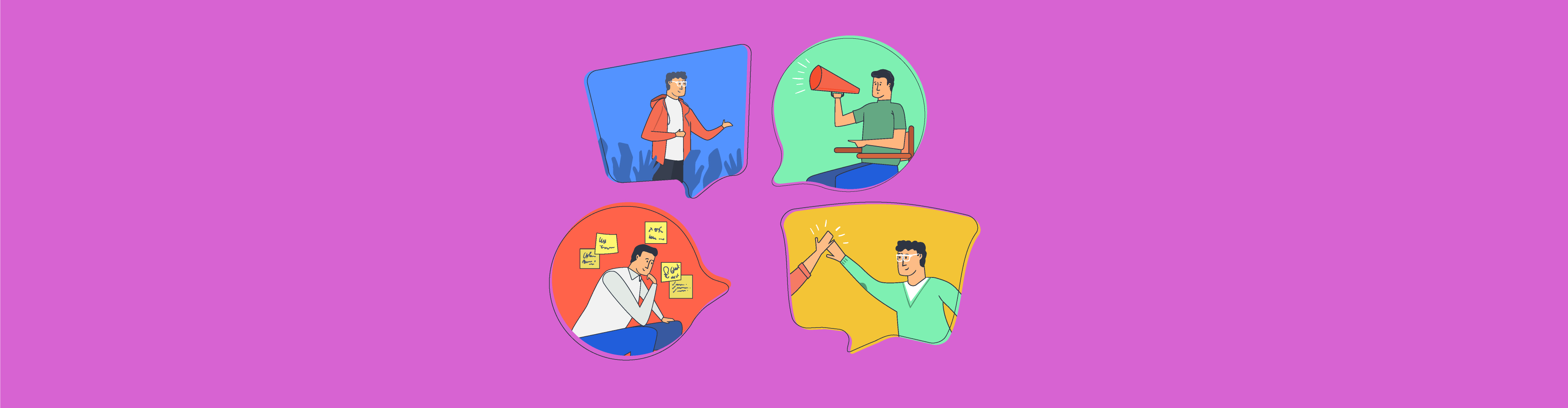 4 communication styles quiz header