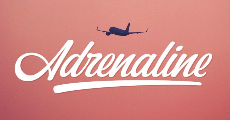adrenaline 50 best free elegant fonts