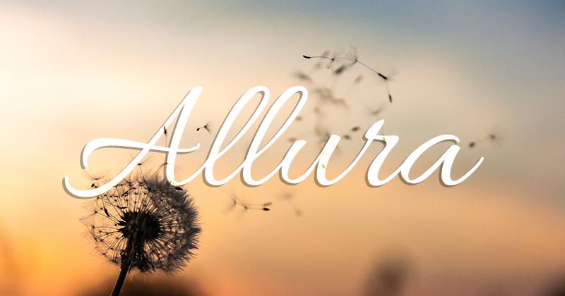 allura 50 best free elegant fonts
