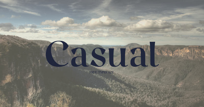 casual 50 best free elegant fonts