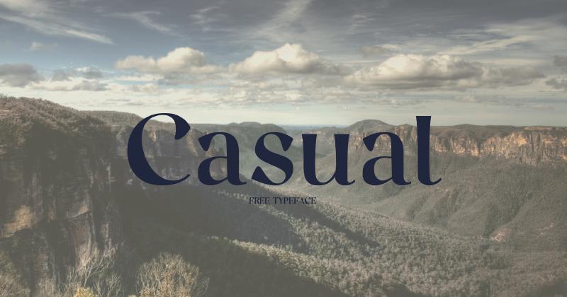 casual 50 best free elegant fonts