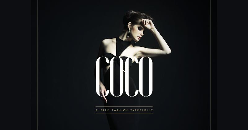 coco 50 best free elegant fonts