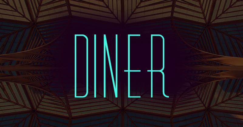 diner 50 best free elegant fonts