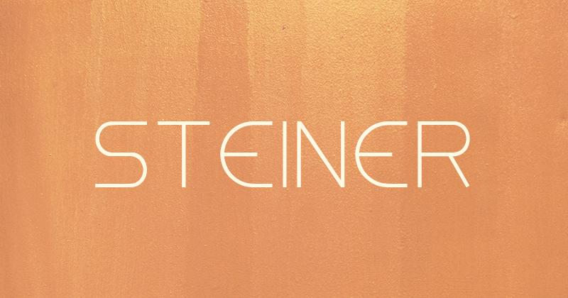 steiner 50 best free elegant fonts