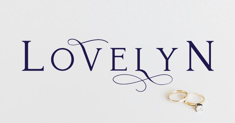 lovelyn 50 best free elegant fonts