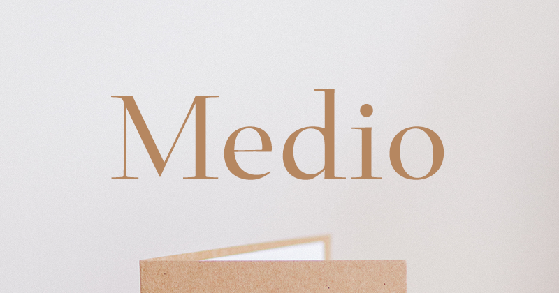 medio 50 best free elegant fonts