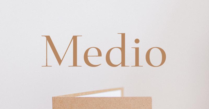 medio 50 best free elegant fonts