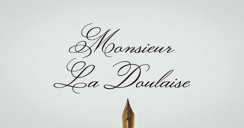 monsieur la doulaise 50 best free elegant fonts
