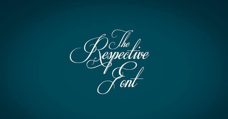 respective 50 best free elegant fonts
