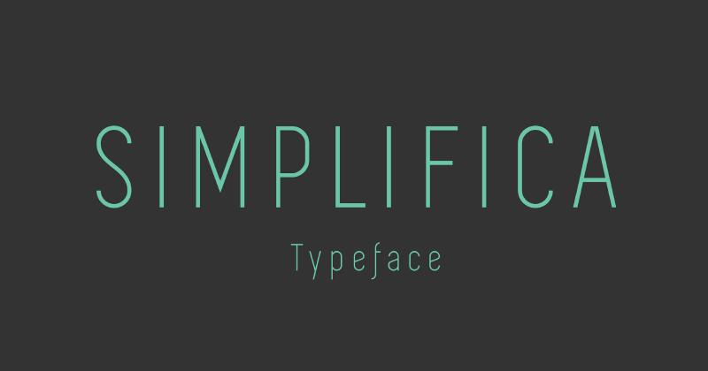 simplifica 50 best free elegant fonts