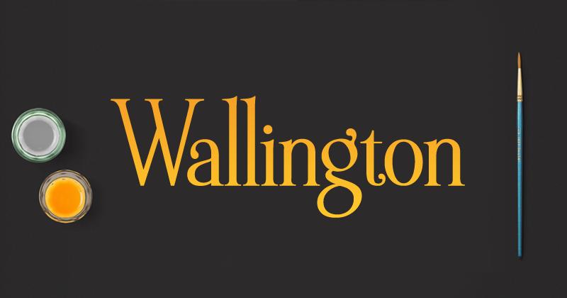 wallington pro 50 best free elegant fonts