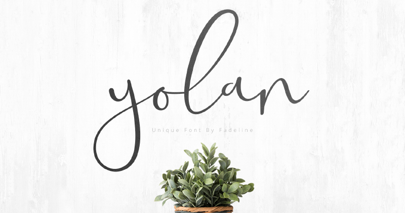 yolan 50 best free elegant fonts