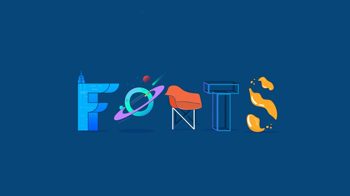 50 free modern fonts