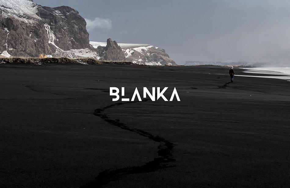 Blanka free modern fonts