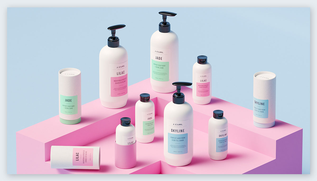 Branding-and-Packaging pastel colors