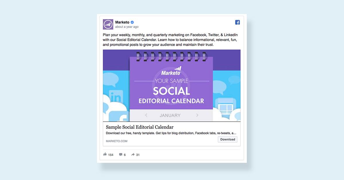 how to create a facebook ad visual images call to action marketo download ebook facebook ad