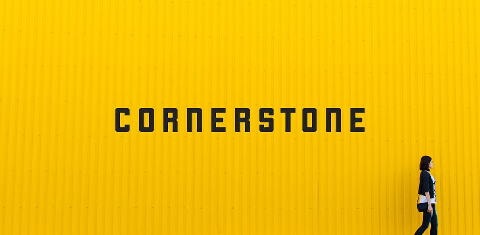 Cornerstone free modern fonts