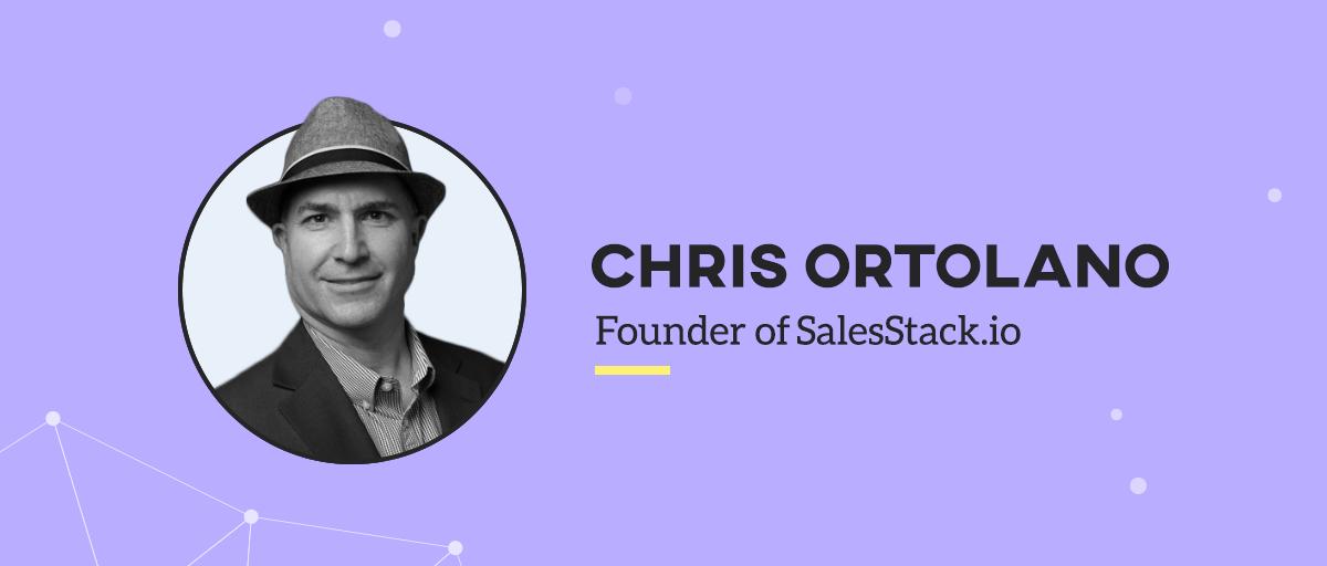chris ortolano founder of salesstack.io