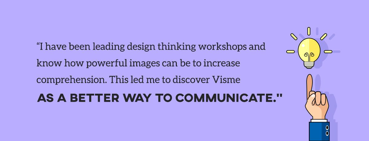 sales storytelling chris ortolano design thinking visual communication