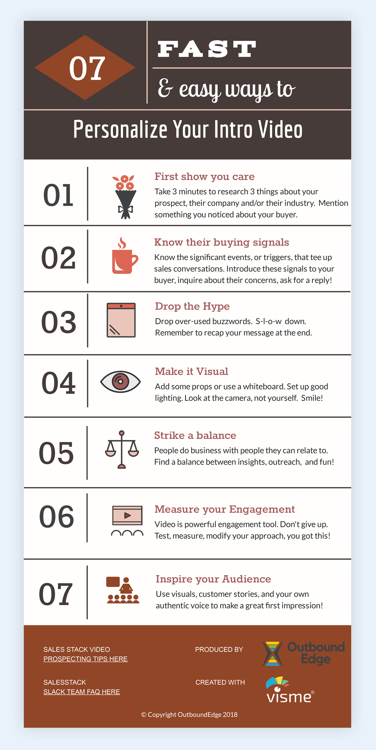 video selling infographic sales storytelling