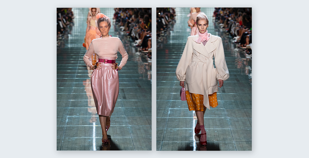 Marc-Jabos-Spring-2019---Ready-to-wear-New-York-Fashion-Week pastel colors