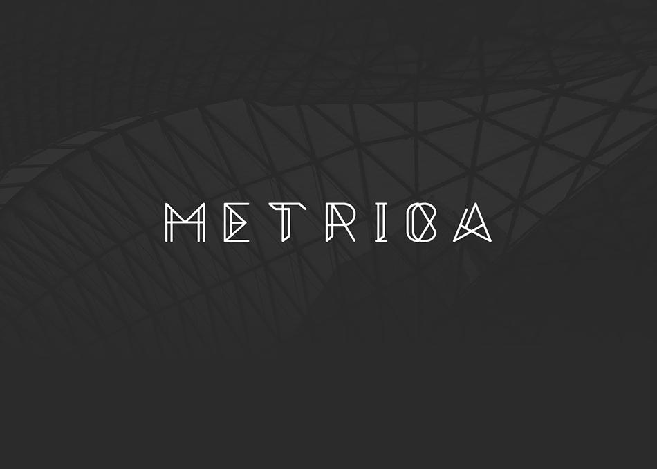 Metrica free modern fonts