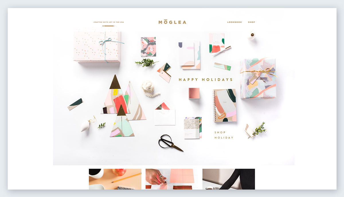 Moglea-Stationery pastel colors