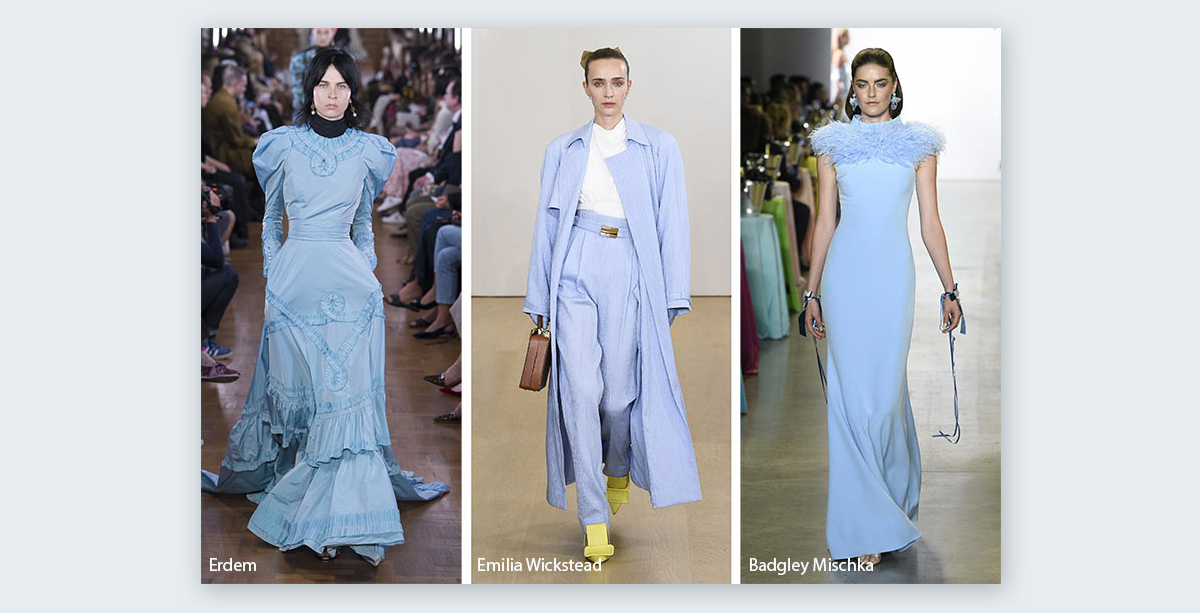 Summer-2019-fashion-color-trends pastel colors blue