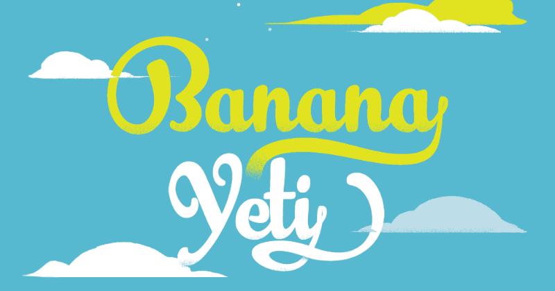banana yeti pretty fonts