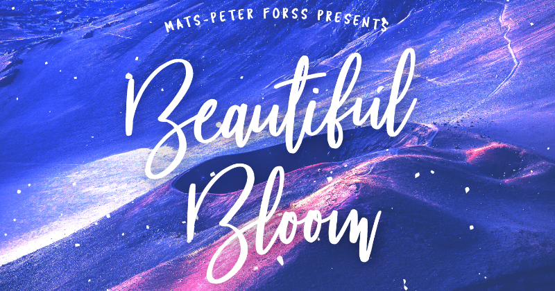 beautiful bloom pretty fonts