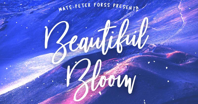 beautiful bloom pretty fonts